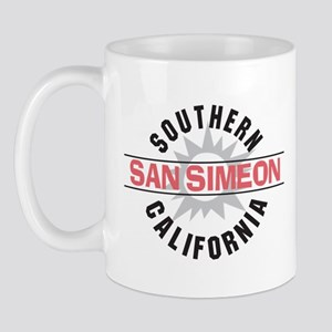 San Simeon California Mug