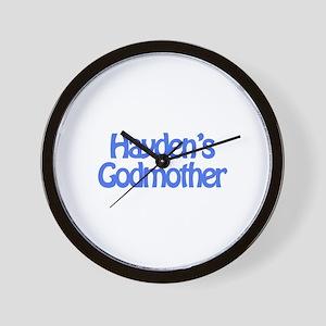 Hayden's Godmother Wall Clock