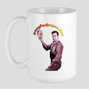 SmegForBrains Large Coffee Mug
