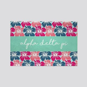 Alpha Delta Pi Flower FB Magnets