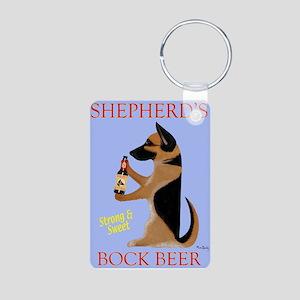 Shepherd's Bock Beer Aluminum Photo Keychain