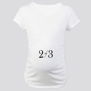 2 of 3 (middle child) Maternity T-Shirt