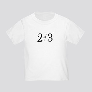 2 of 3 (middle child) Toddler T-Shirt