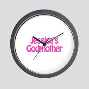 Jessica's Godmother Wall Clock