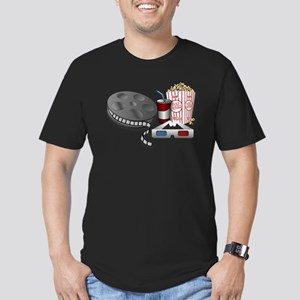 3D Cinema Movie Popcorn T-Shirt