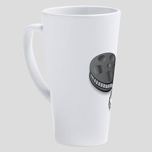 3D Cinema Movie Popcorn 17 oz Latte Mug