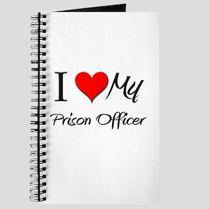I Heart My Prison Officer Journal