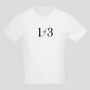 1 of 3 (1st born oldest child) Kids Light T-Shirt
