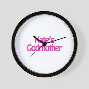 Kate's Godmother Wall Clock