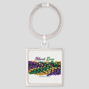 Mardi Gras beads Keychains