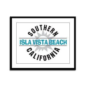 Isla Vista California Framed Panel Print