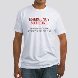Emergency Medicine Fitted T-Shirt