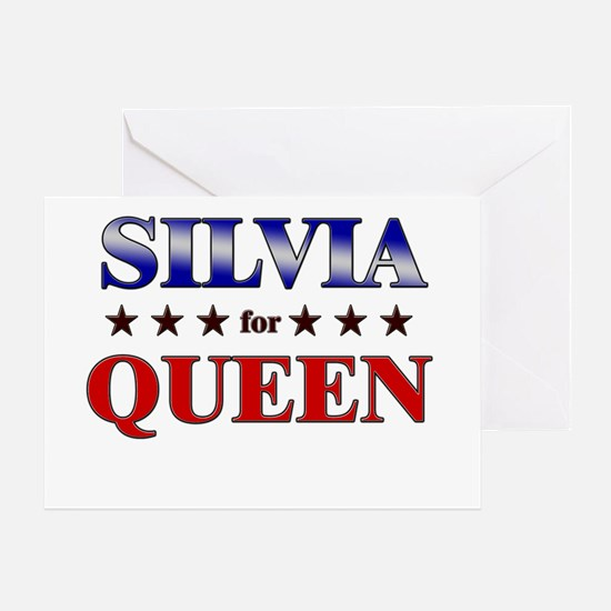 SILVIA for queen Greeting Card