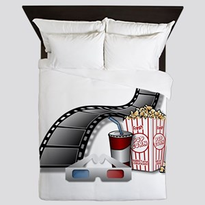 Cool 3D Movie Cinema Queen Duvet