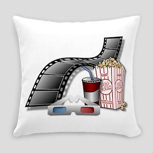 Cool 3D Movie Cinema Everyday Pillow