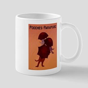 Pooches Parapluie Mug