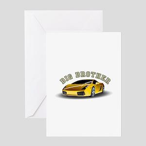 BIG BROTHER (CAR) Greeting Card