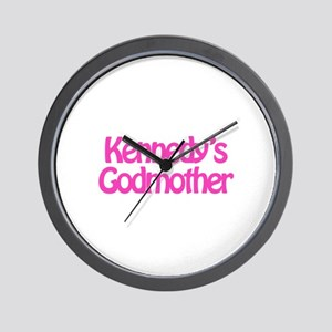 Kennedy's Godmother Wall Clock
