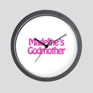 Madeline's Godmother Wall Clock