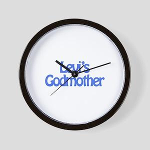 Levi's Godmother Wall Clock
