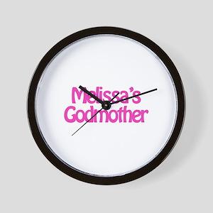 Melissa's Godmother Wall Clock