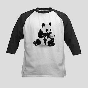 Cute Panda And Baby Panda Baseball Jersey