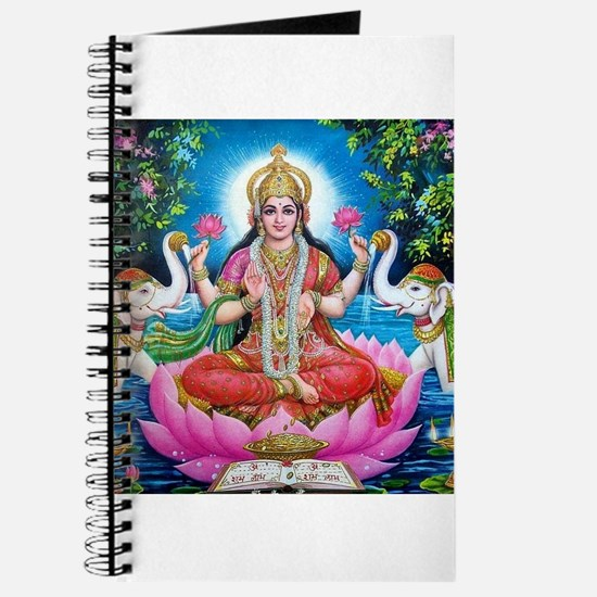Lakshmi Goddess of Wealth, Happiness, and Journal