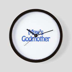 Max's Godmother Wall Clock