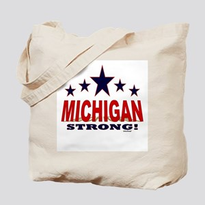 Michigan Strong! Tote Bag