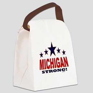 Michigan Strong! Canvas Lunch Bag