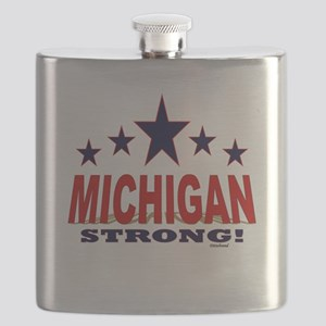 Michigan Strong! Flask