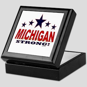 Michigan Strong! Keepsake Box