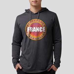 France Sun Heart Long Sleeve T-Shirt