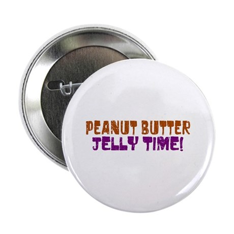 """Peanut Butter Jelly Time 2.25"""" Button (100 pack)"""