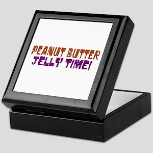 Peanut Butter Jelly Time Keepsake Box