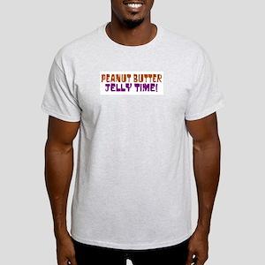 Peanut Butter Jelly Time Light T-Shirt