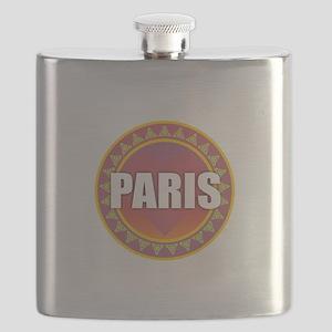 Paris Sun Heart Flask