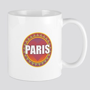 Paris Sun Heart Mugs