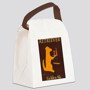 Retriever Golden Ale Canvas Lunch Bag