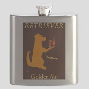 Retriever Golden Ale Flask