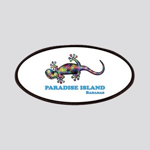 Rare bahama islands paradise beach nassau postcard old vintage.