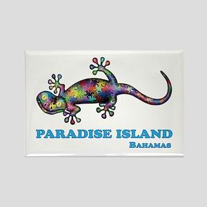Paradise Island Gecko Magnets