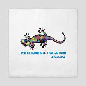 Paradise Island Gecko Queen Duvet