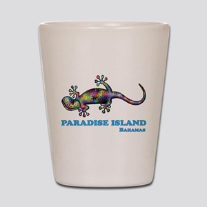 Paradise Island Gecko Shot Glass