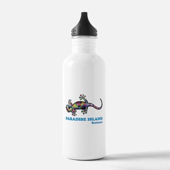 Paradise Island Gecko Water Bottle