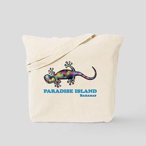 Paradise Island Gecko Tote Bag
