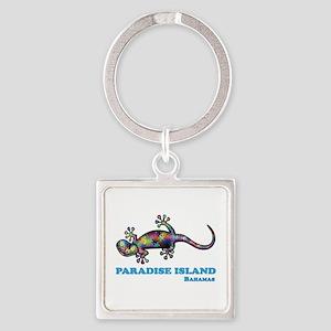 Paradise Island Gecko Keychains