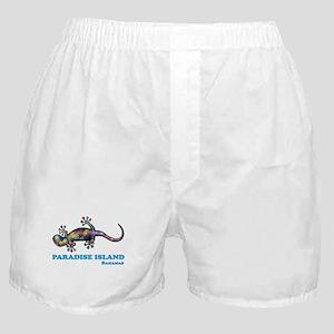 Paradise Island Gecko Boxer Shorts