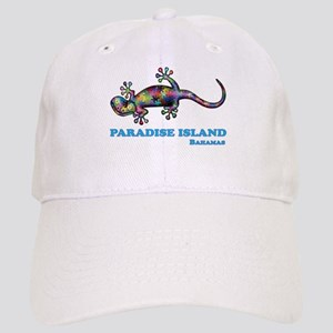 Paradise Island Gecko Baseball Cap