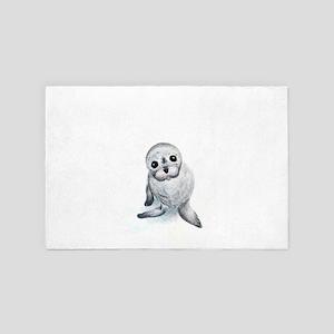 Baby Seal 4' x 6' Rug